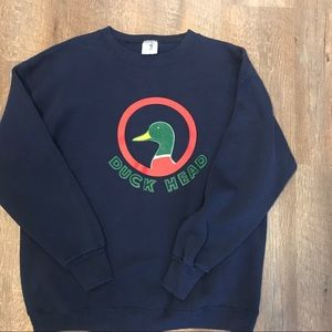 Vintage Duck Head Sweat Shirt